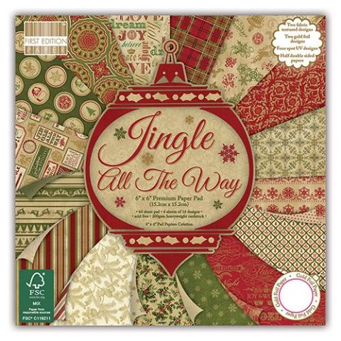 Dovecraft 6X6 - First Edition Jingle All The Way